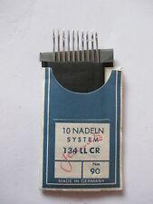 10 Pfaff Schmetz Nähmaschinennadeln Nadeln System 134 LL CR Stärke 90 neu