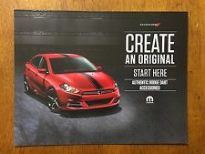 2015 Dodge Dart Authentic Part accessories catalog sales brochure