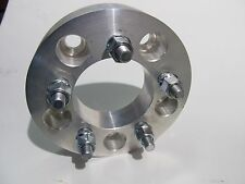 "5x114.3 / 5x4.5 Hub to 5x115 Wheel 4 Rim Adapters 1.25"" Billet Spacers 12mm Stud"