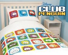 Disney Club Penguin Single Quilt Cover Set