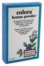 COLORA HENNA POWDER HAIR COLOR BUTTER-CUP BLONDE 2oz
