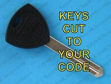 LANCIA Beta Scorpion dimple DOOR KEY CUT TO YOUR CODE