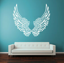 Wall Decal Vinyl Sticker Big Wings Angel God Guardian Bird Kids Children r1323