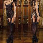 Sexy Women's Lingerie Lace Dress Babydoll Nightwear Underwear Sleepwear G-string