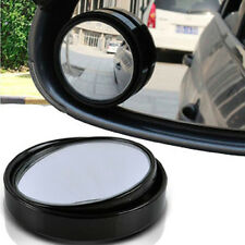1xCar Black Rearview Mirror Blind Spot Mirror Adjustable Wide Angle Great Circle