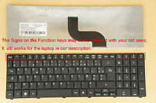 Clavier Français pour Packard Bell Easynote PEW91 PEW96 LM Model MS2290 MS2291