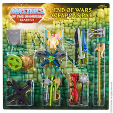 End of Wars Weapons Pak  Masters of the Universe Classics MOTU MOTUC HE MAN