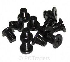 "12 x M3x4mm Black 2.5"" Laptop Hard Drive & SSD Mounting Screws - Free UK P&P"