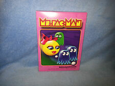 Ms. Pac-Man Intelligentvision Intellivision Homebrew Video Game CIB w/ overlays