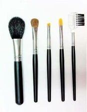 On The Go BRUSH SET 5 Piece Travel Makeup Brush Kit Essential Tools With Pouch