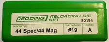 80194 REDDING 44 SPECIAL / 44 MAGNUM 3-DIE SET - BRAND NEW - FREE SHIPPING
