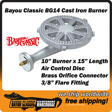 Bayou Classic BG14 High Pressure Cast Iron Replacement Burner for KAB4 KAB6