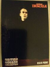 BRITISH HORROR COLLECTION - SERIES ONE: DEALER PROMO CARD: GP1 - CHRISTOPHER LEE