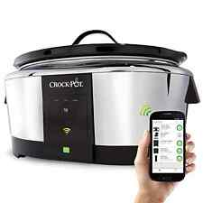 Crock-Pot Smart Wifi-Enabled WeMo Slow Cooker Free Ship Cook from anywhere