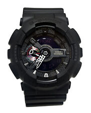 Casio GA110MB-1A G-Shock Black  Analog Digital Dial Resin Band Men Watch NEW