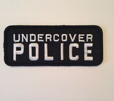 Undercover Police Embroidered Patch Iron on or Sew on