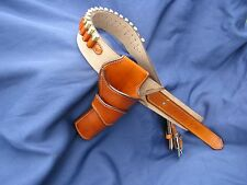 Custom Leather Hondo Single Rig  | SASS Cowboy Western Holster