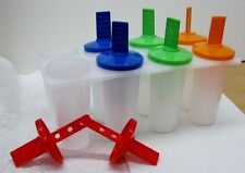 Frozen Popsicle Maker Plus- Makes 8 Individual Pops BPA Free Made in USA New
