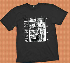 Bikini Kill Americn Punk Band   t shirt  S -  3XL  Tour  sum41