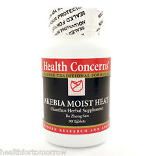 Health Concerns Akebia Moist Heat 90 tabs - Exp Date: 03/2018