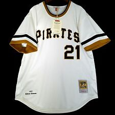 100% Authentic Roberto Clemente 71 Pirates Mitchell Ness MLB Jersey Size M 40