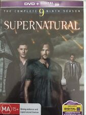 Supernatural - The Complete Ninth Season [DVD] Jensen Ackles - Free Post!!