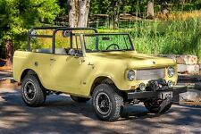 Roll Bar For International Scout 800. Safari Style Roll Bar.