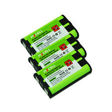 3 Cordless Phone Battery Ni-MH 5/4AAA 800mAh 3.6V for Panasonic HHR P104 PKCELL