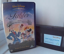 Disney's The Legend Of Sleepy Hollow & Prince and the Pauper Disney VHS Video