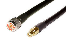 us made     6 ft  LMR-400(CNT400)   50 Ohm Coaxial  Cable N male to SMA R/P