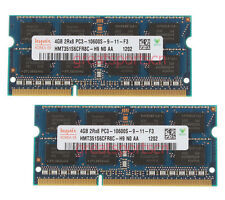 Hynix 8GB 2X 4GB DDR3 1333Mhz 2RX8 PC3-10600S 204pin SO-DIMM Laptop Memory B137