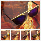 Vintage Men Women Cat Eye Mirror Christian Designer Oversized Sunglasses F5