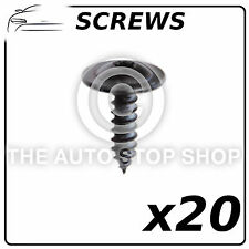 Special Screws 4,8 x 16 MM ZN Noir Peugeot 1007/206/301 etc Part No.11221 20Pack
