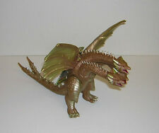 "GODZILLA BANDAI G-14 KING GHIDORAH CRETACEOUS 6"" TALL VINYL FIGURE WITH HANG TAG"