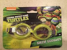 BRAND NEW TEENAGE MUTANT NINJA TURTLES KIDS SWIM GOGGLES