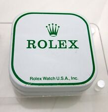 1978 Vintage Rolex Watch Part Tin Box Display Container USA