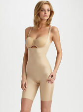 NWT Spanx Slimplicity™ Open-Bust Mid-Thigh Bodysuit Size M, MSRP $84.00