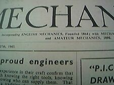mechanics magazine conplete august 27th 1943