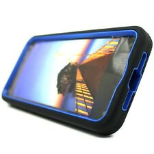 For Amazon Fire Phone Black Blue Rugged Tough Stand Hybrid Hard Cover Case