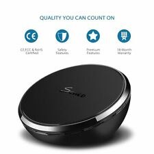 Seneo Qi Changer Fast Wireless Charging Stand Pad for Samsung Galaxy S7 S7 Edge
