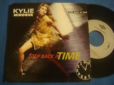 "45T KYLIE MINOGUE / STEP BACK IN TIME / CBS 1990 PWL / VG++ SP 7"" HOLLAND"