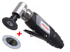 Air Pneumatic Mini Angle Sander 50mm with Threaded Sanding Disc TECHNIC