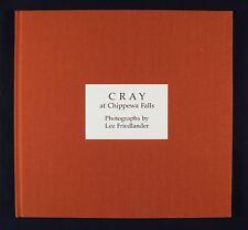 Lee Friedlander Cray at Chippewa Falls New & Signed Photography Book