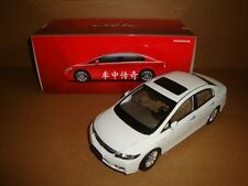 1/18 CHINA new Honda civic white color