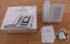 Altigen iFusion AP300 SmartStation Hand Phone iPhone 3G/3GS/4/4S WHITE 30 pin
