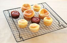 NonStick Bake Oven Bread Pie Muffin Cake Pastry Cooling Grid Tray Airing Rack