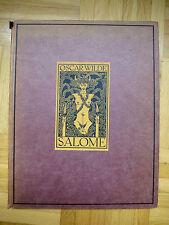1919 SALOME Oscar Wilde Tragödie in 1 Akt mit 16 Zeichnungen Aubrey Beardsley