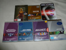 PAL 4 STAR TREK BATTLESTAR GALACTICA DVD LOT III IV V INSURRECTION NEMESIS SET
