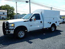 2012 FORD F350 SRW 4X4 ENCLOSED UTILITY SERVICE BODY TRUCK 6.7 LITRE POWERSTROKE
