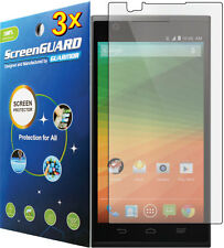 3x Ultra Clear LCD Screen Protector Guard Cover Shield Film ZTE ZMax Z970